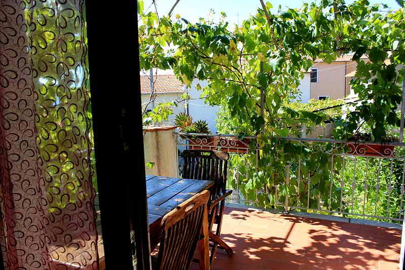 sul balcone/terrazza